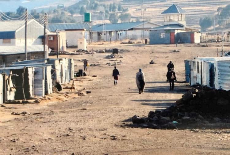 African adventure A remote township on the outskirts of Semonkong