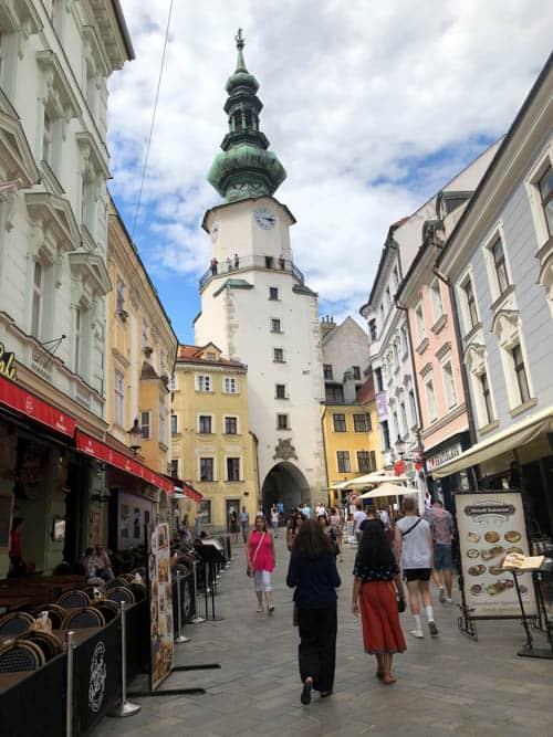 Michael's Gate Bratislava