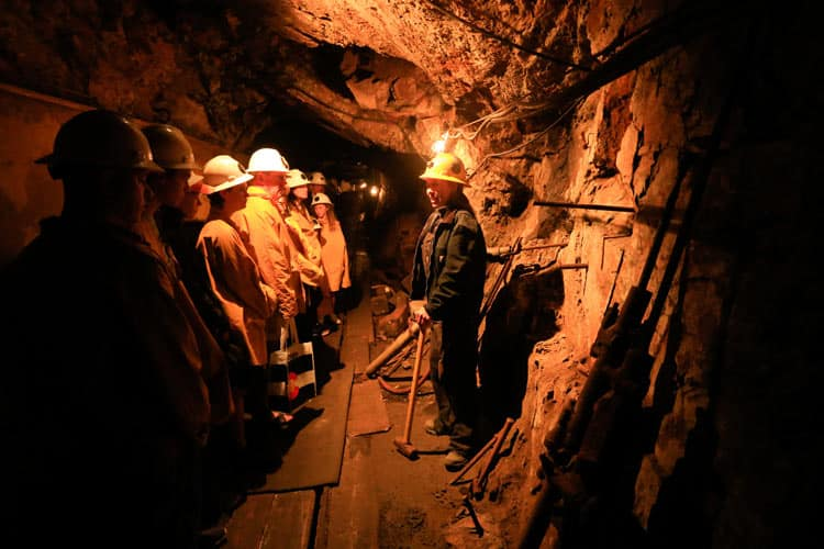 Tours in Country Boy Mine