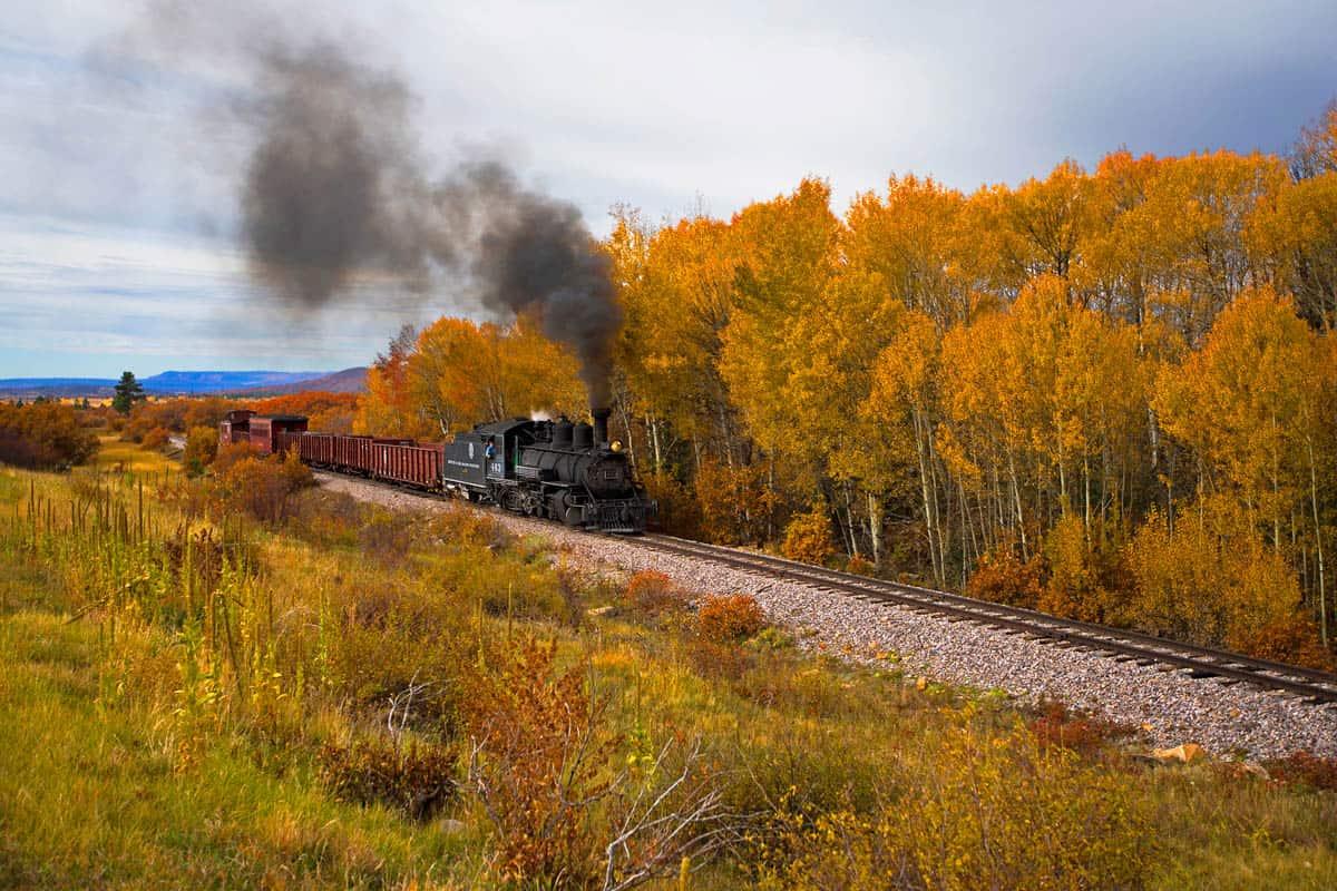 Fall Rail Journey on the Cumbres & Toltec Scenic Railroad