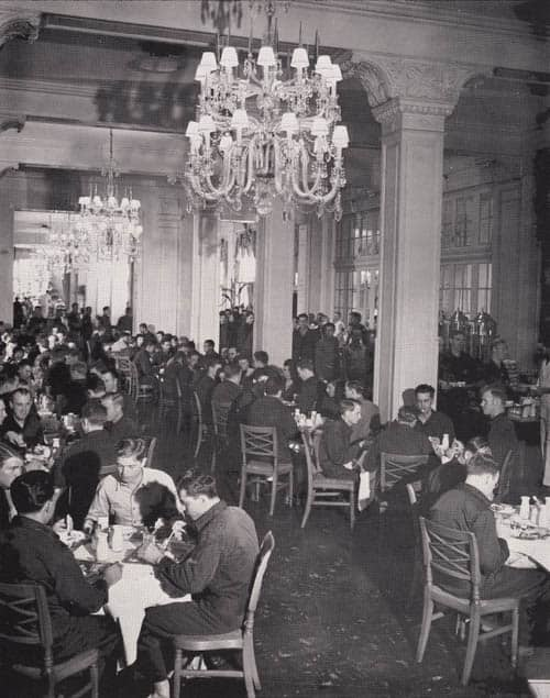 Colonnades dining room as Mess Hall