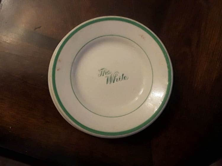 Greenbrier China The White