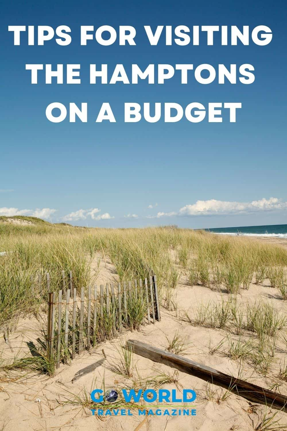 Planning on visiting the Hamptons but don't have a fortune to spend? These tried and true tips will help you visit the Hamptons on a budget. #thehamptons #montauk