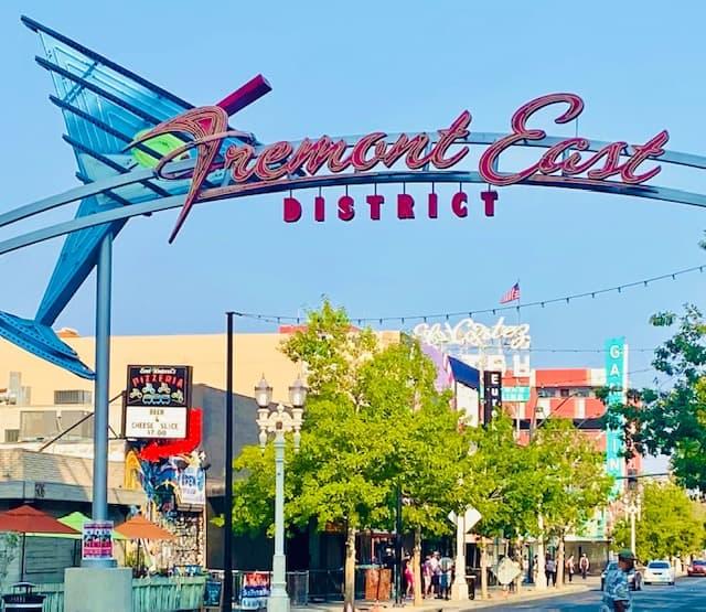 Fremont East District Las Vegas