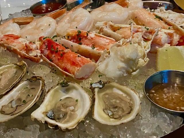 Venetian Resort seafood