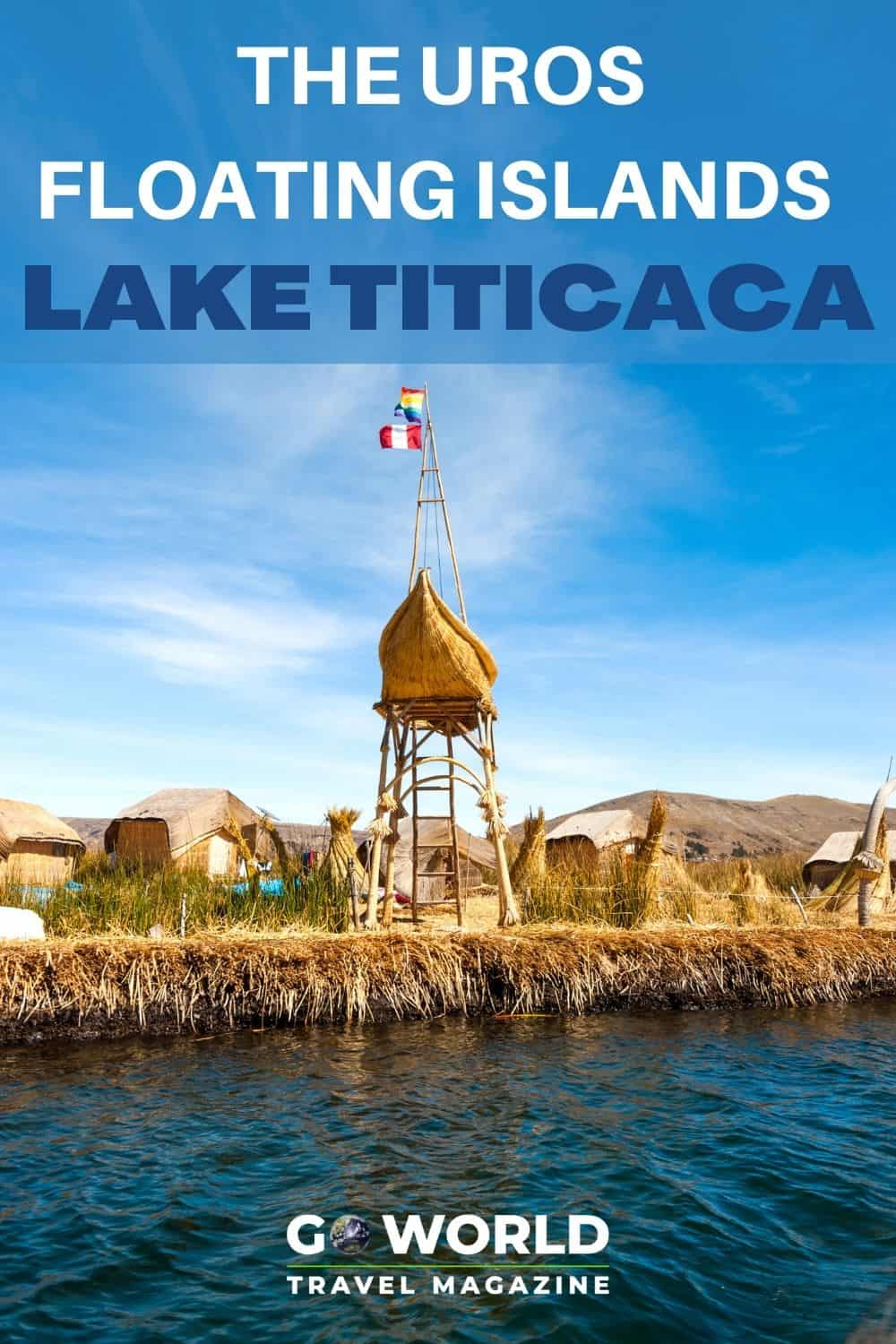 The Uros Floating Islands in Lake Titicaca are man made out of reeds. Boats out of Puno, Peru take visitors to see these unique islands. The Uros Floating Islands in Lake Titicaca are man made out of reeds. Boats out of Puno, Peru take visitors to see these unique islands. #Laketiticaca #Peru #urosfloatingislands