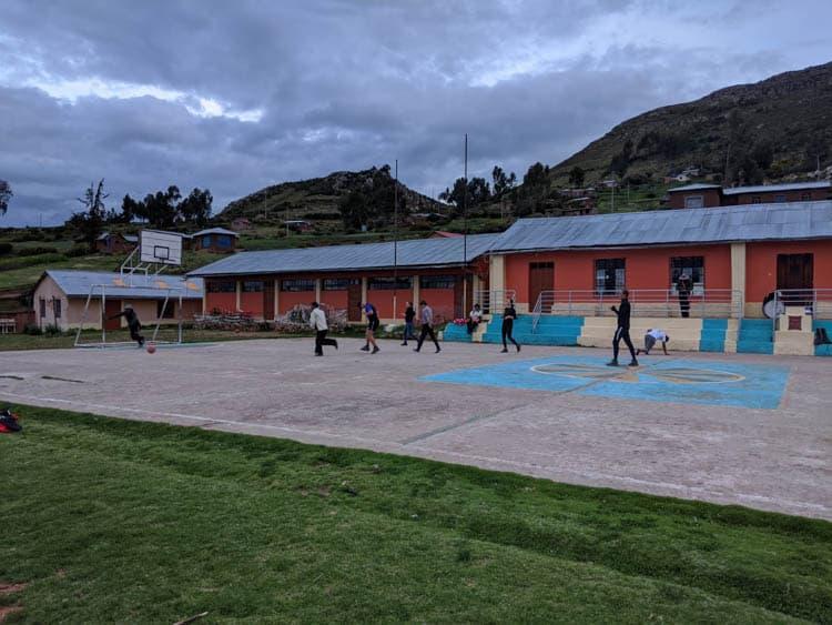 Island of Taquile Lake Titicaca