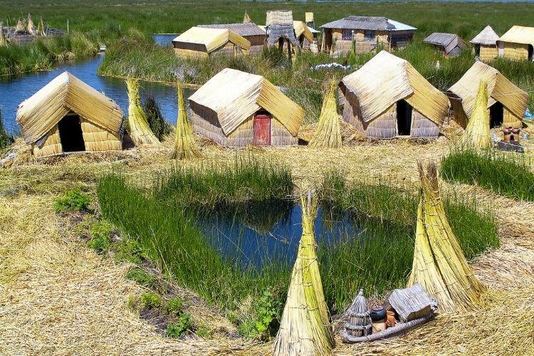 Lake Titicaca Uros Floating Islands