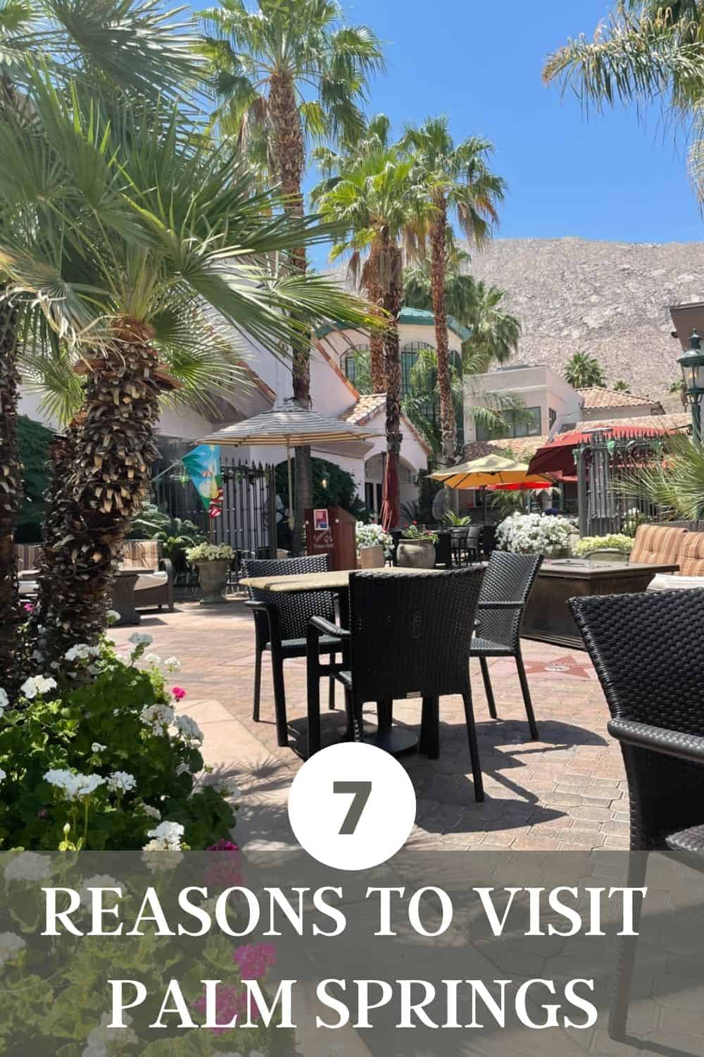 Here are 7 reasons to visit Palm Springs, California including desert jeep tours, family golf, car racing, hot spring spas and epic dining. #Palmsprings #california #visitpalmsprings