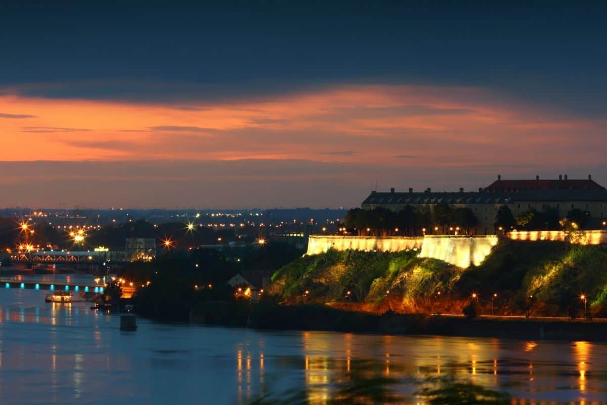 Experience a Spooky Night Tour of Serbia's Petrovaradin Fortress