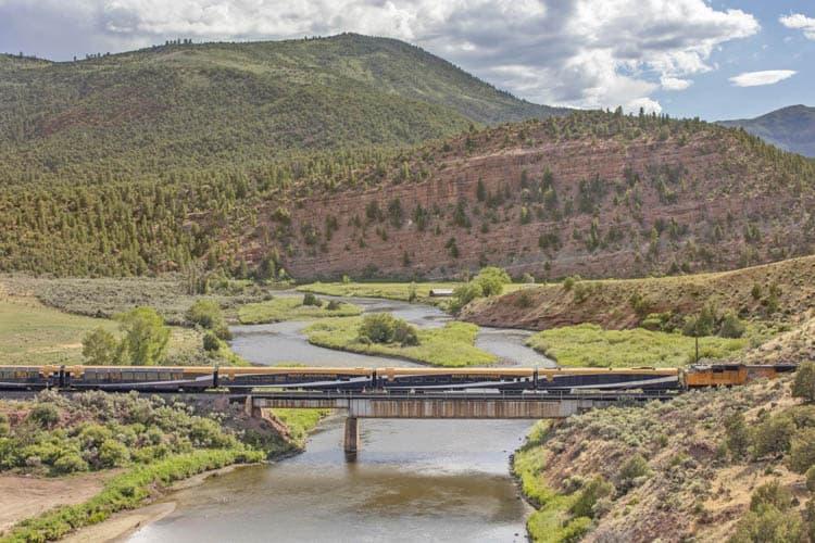 Rocky Mountaineer in Colorado