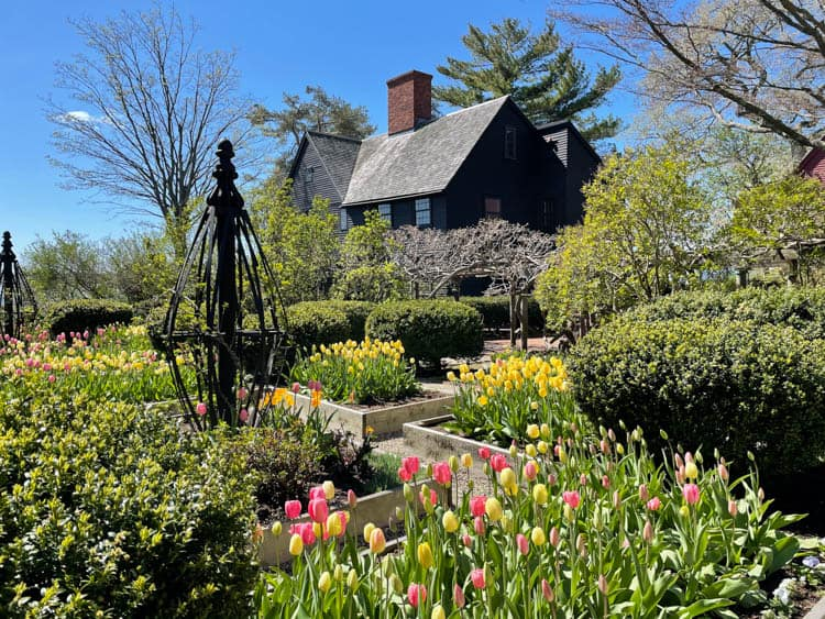 Gardens at the House of Seven Gables, Salem MA