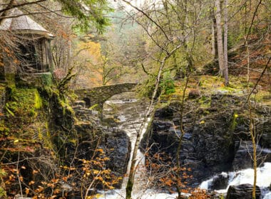 Scotland in Autumn. Hermitage