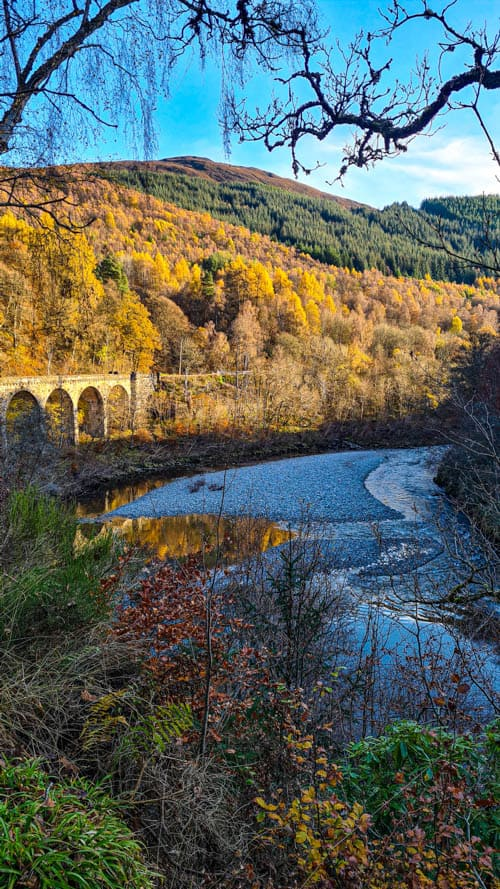 Scotland in Autumn. Killiecrankie