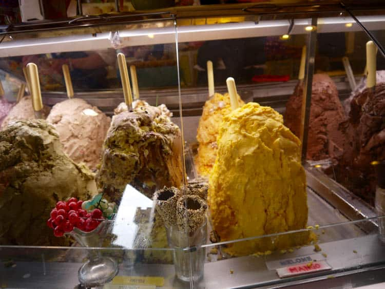 Studying Abroad Gelateria in Florence