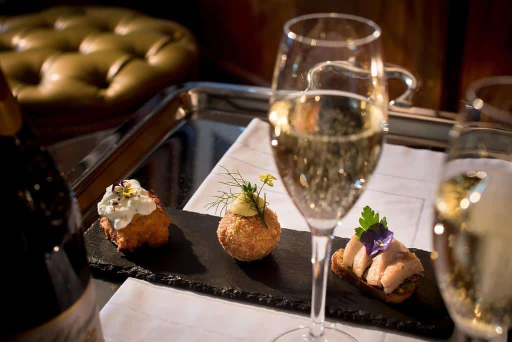 The Manor House Canapes