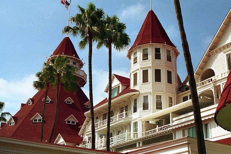 A young woman named Kate Morgan is said to haunt the rooms at Hotel del Coronado