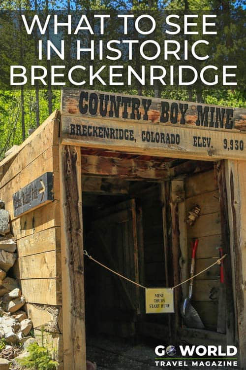 Discover how Breckenridge, Colorado came to be from its start as a small mining town. Explore the extensive mines and learn more about Colorado history from the gold rush era.
