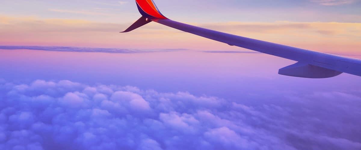Get good rest on flight