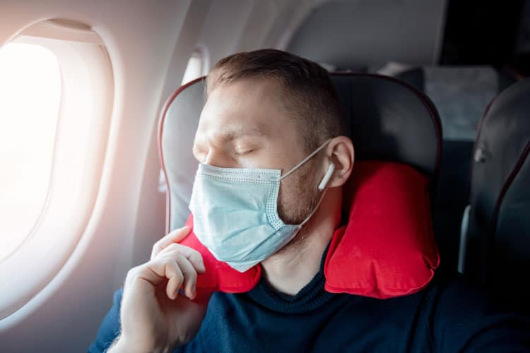 Neck pillows provide comfort
