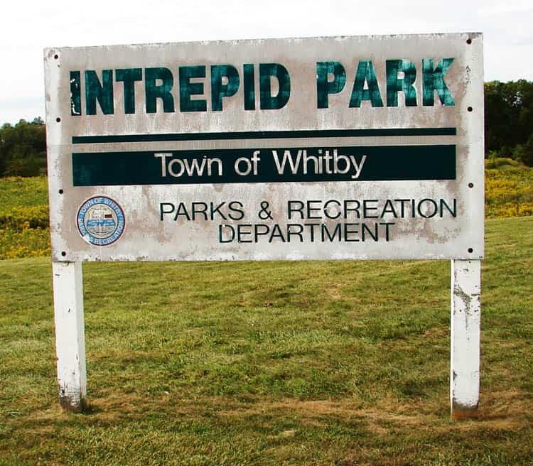 Camp X Ontario. Intrepid Park