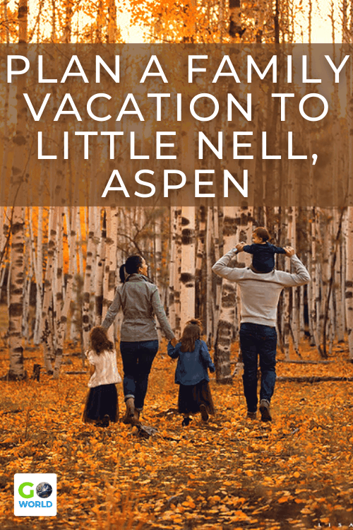 Family vacations usually don't involve much time relaxing but at the Little Nell in Aspen, Colorado the whole family can have fun and enjoy a luxury escape.