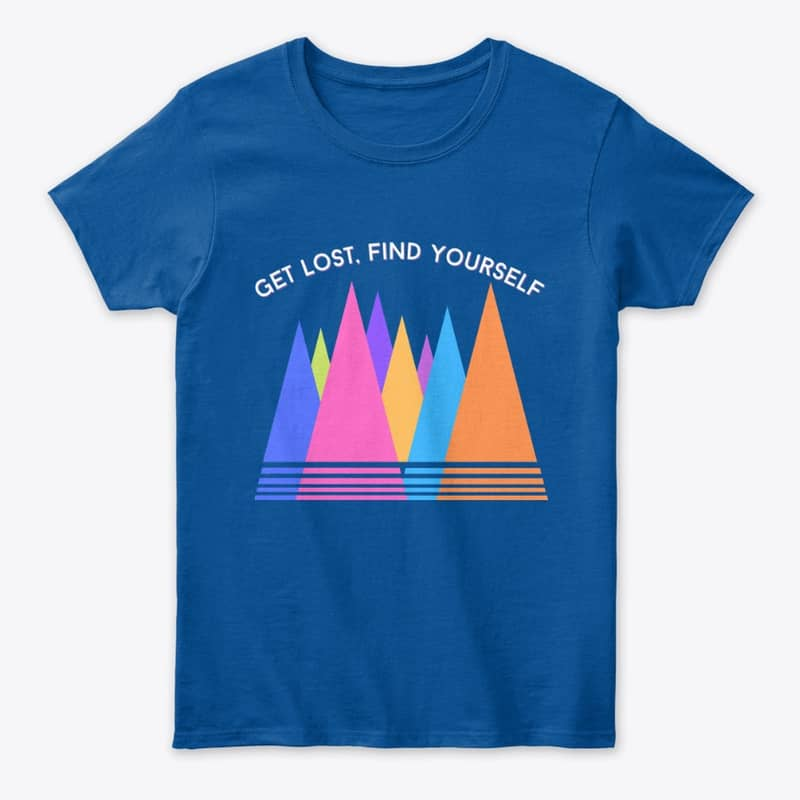 """""""Get Lost, Find Yourself"""" Travel T-Shirt"""